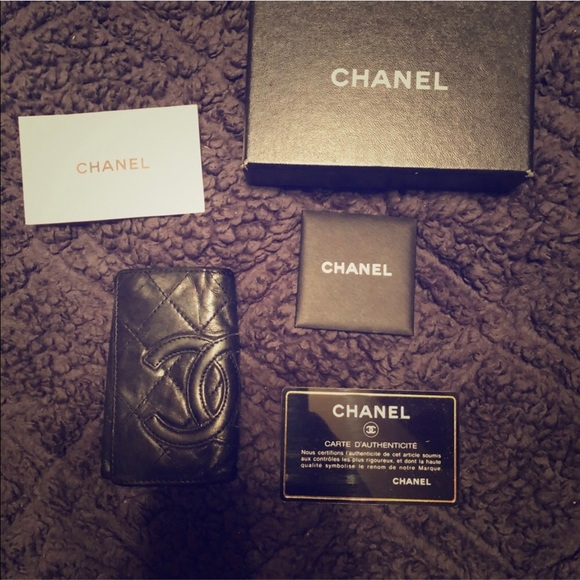 14270474ec49 CHANEL Bags | Authentic Keychain Wallet Card Holder | Poshmark